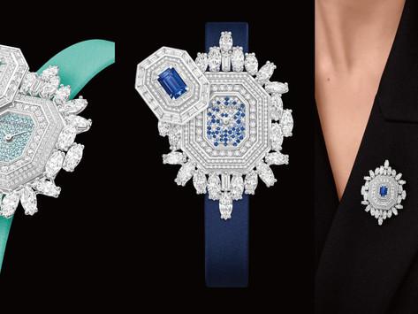 親手開啟神秘錶盤!|海瑞溫斯頓珠寶錶搭上帕拉伊巴碧璽的稀罕瑰麗