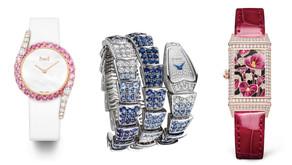 首次線上辦!101頂級珠寶腕錶大賞|伯爵粉紅藍寶石腕錶全台僅1只