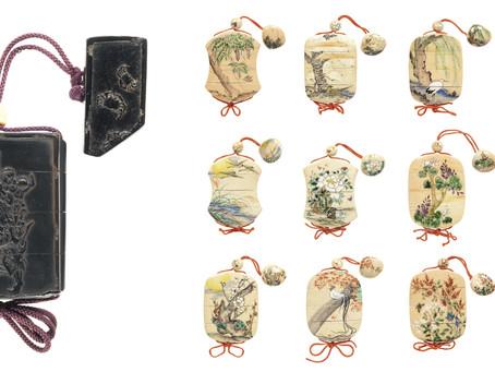古代日本男子也崇尚小包!|腰間上的「印籠」