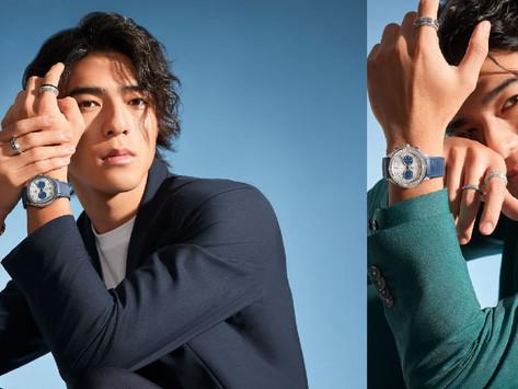 伯爵形象大使陳昊森配戴POLO系列腕錶|新潮解讀都會男性的奢華風格