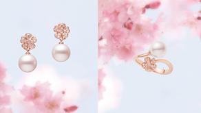 賞櫻不用到日本 珍珠首飾上也可以|春季的粉色珍珠音調
