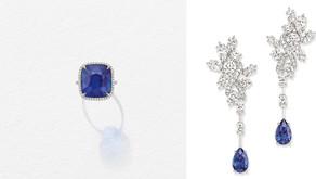 斯里蘭卡藍寶戒指首次曝光!|海瑞溫斯頓的彩色寶石樂園