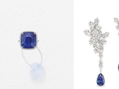 斯里蘭卡藍寶戒指首次曝光! 海瑞溫斯頓的彩色寶石樂園