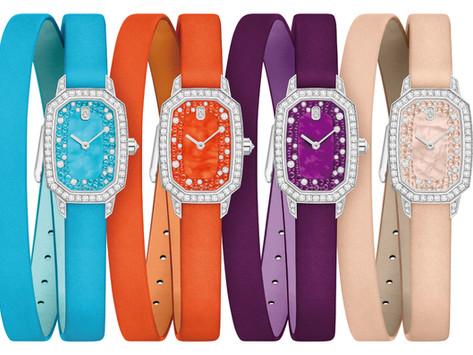 海瑞溫斯頓推出全新Emerald腕錶|絢麗色彩讚頌愛情印記