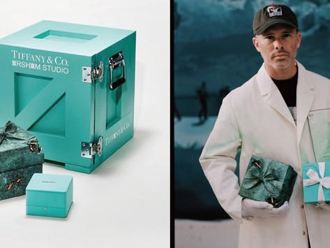 標誌性blue box的大改造!|TIFFANY X Daniel Arsham限量推出青銅小藍盒
