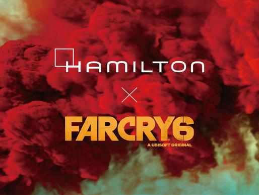 HAMILTON也出現在虛擬遊戲中? 卡其陸戰系列成為《極地戰嚎6》首款品牌腕錶