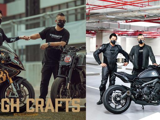Rough Crafts最新款手工車發表會! 改裝車台灣之光小葉齊聚重機強手
