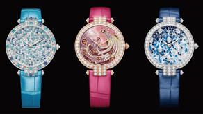 雪花鑲嵌到傳統馬賽克的錶盤|你想到的海瑞溫斯頓都做得到!