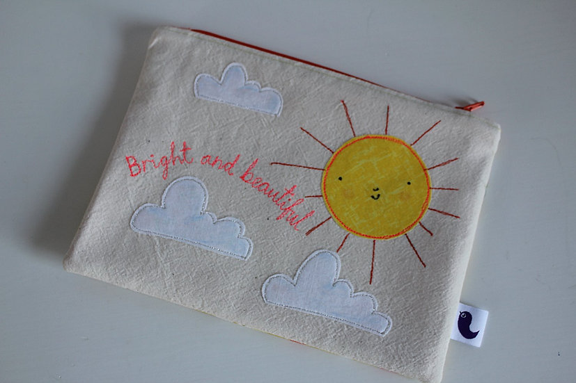 Bright and Beautiful Cotton Purse