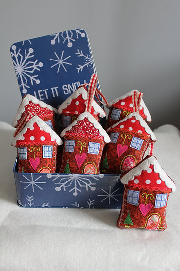 Gingerbread Townhouse Decoration