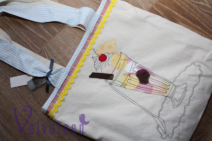 Knickerbocker Glory Cotton Tote Bag