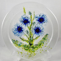 """11"""" fused glass plate"""