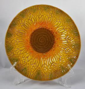 Art Nouveau Sunflower