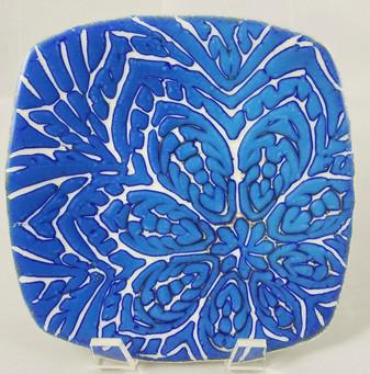 Available; 8x8 reactive blue batik