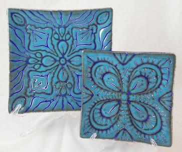 Blue Wedding Plates