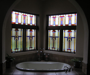 Frank Lloyd Wright Bathroom