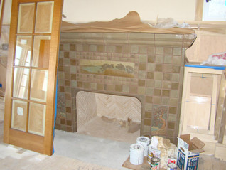 Livingroom Fire Place