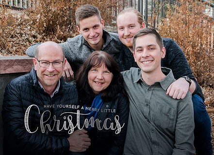 Merry Little Christmas 5x7 Horizontal Fr