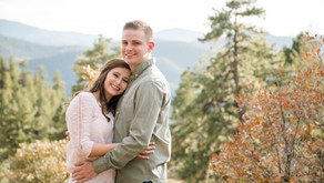 Mt Falcon, Colorado | Tyler & Natalie's Engagement Session