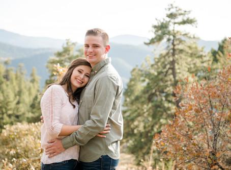 Mt Falcon, Colorado | Tyler & Natalie's Engagement Session