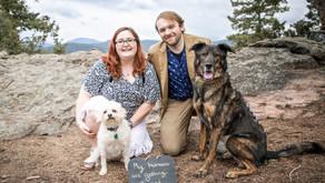 Mt Falcon, Colorado | Cameron & Debi's Engagement Session