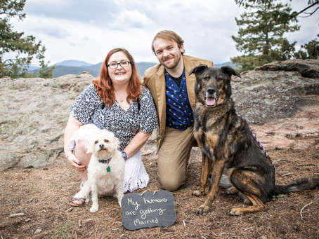 Mt Falcon, Colorado | Cameron & Debi's Engagement Session