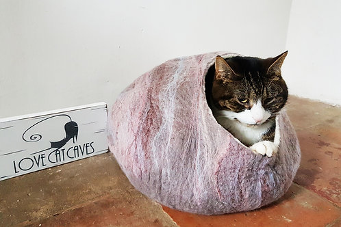 Cat Bed marble effect