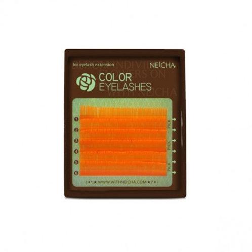 NEICHA Color Eyelashes Orange mix mini