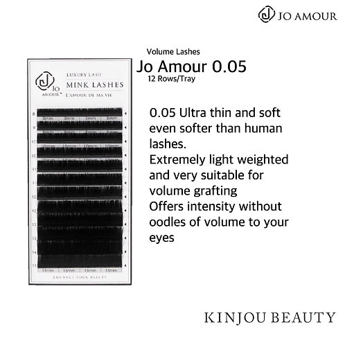 Jo Amour 0.05 Volume Lashes