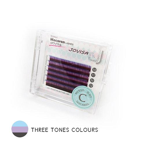 JOVISA Royale Macaron Three Tone Lashes (5 Trays) - PRE-ORDER