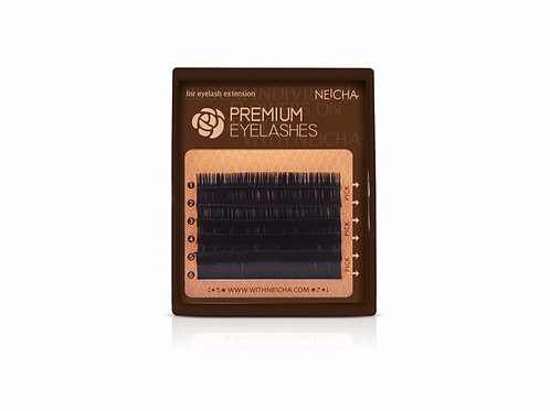 NEICHA Premium Lashes mini - C and D curls
