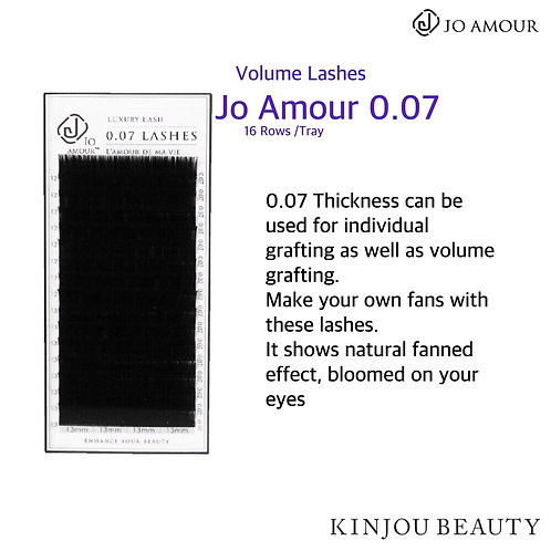 Jo Amour 0.07 Volume Lashes