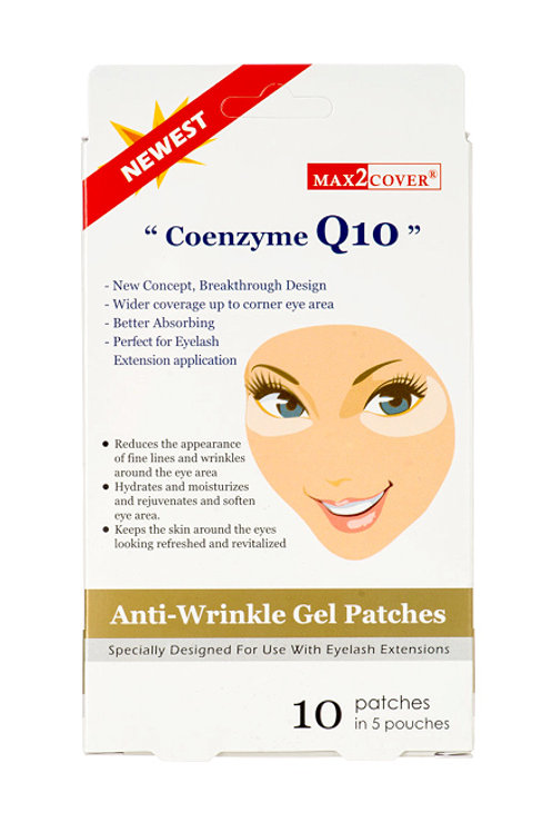 MAX2 COVER Coenzyme Q10 Anti-Wrinkle Gel Patches