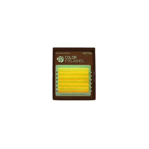 NEICHA Color Eyelashes Yellow mix mini