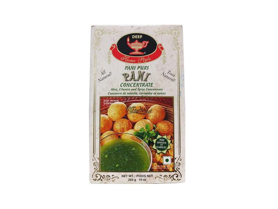 F. Pani Puri Concentrate