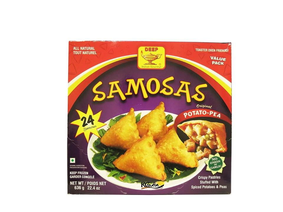 F. Deep Potato Samosa