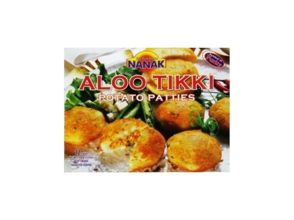 F. Aloo Tikki
