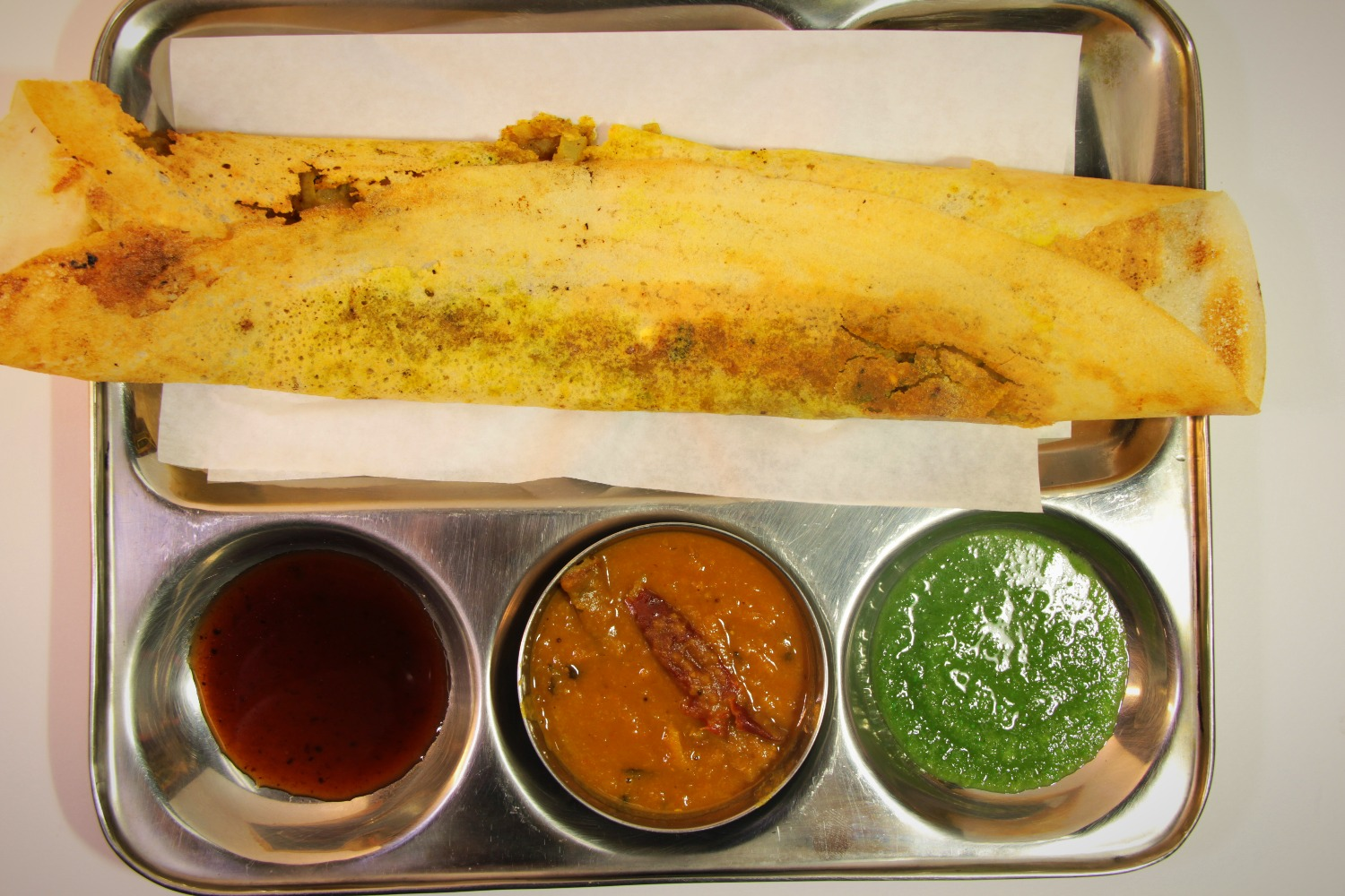 Plain, Masala, or Cheese Dosa
