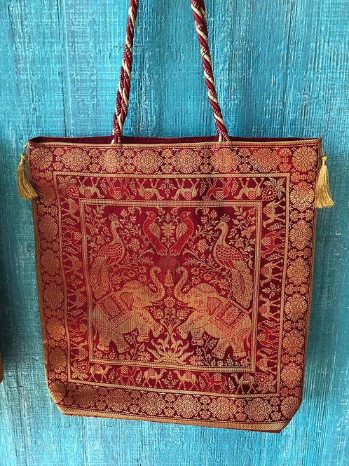 Indian Elephant Shoulder Bag