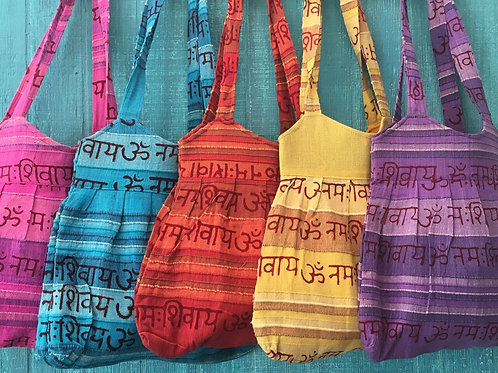 Shiva Mantra Messenger Bag