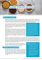 Food Fortification Introduction