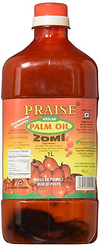 Praise Red Palm Oil, 1-Litre - Zom