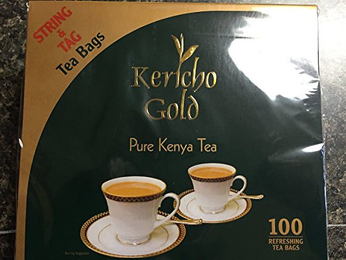 Kericho Gold Tea bags- Kenyan Black Tea String Bags