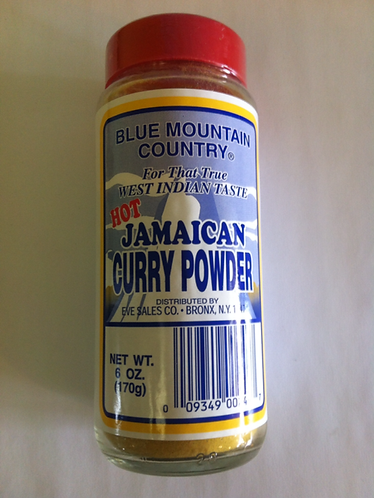 Blue Mountain Jamaican Curry Powder- 6 oz
