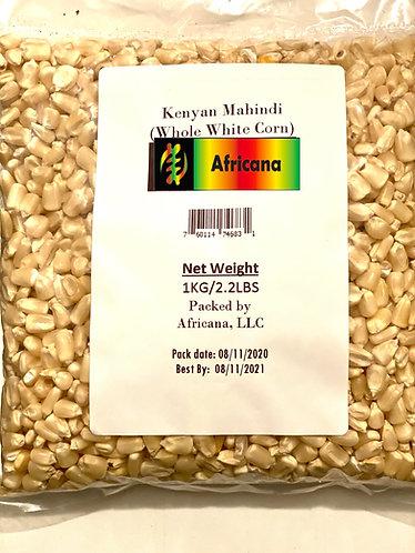 Mahindi- white corn