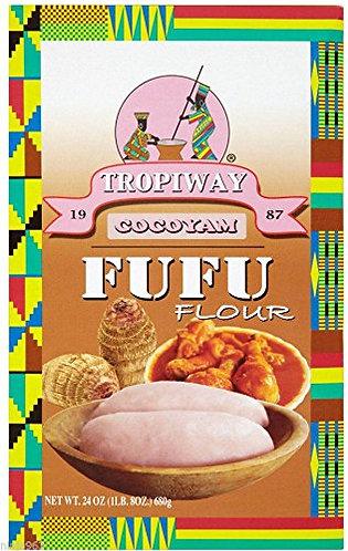 Tropiway Cocoyam Fufu