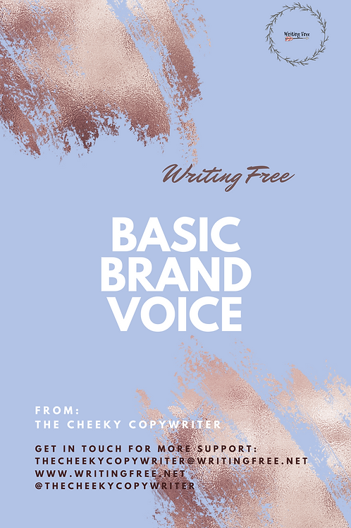 Basic Brand Voice Package