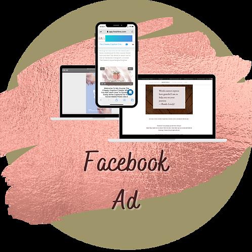 Single Facebook Ad