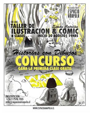 Taller de Ilustración y Comic Online