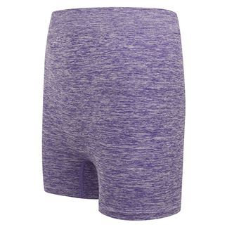 Women's Seamless Shorts - Purple Marl